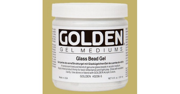 golden glass bead gel 237ml