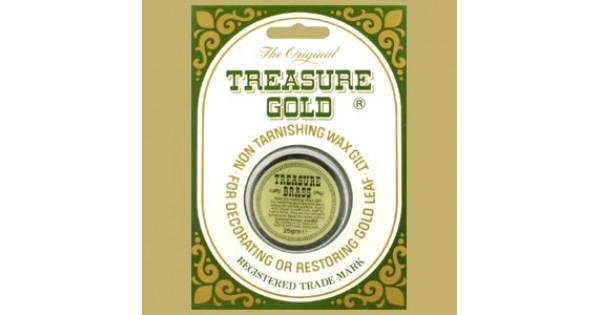 Treasure Gold Brass Gilders Wax 25 Grams