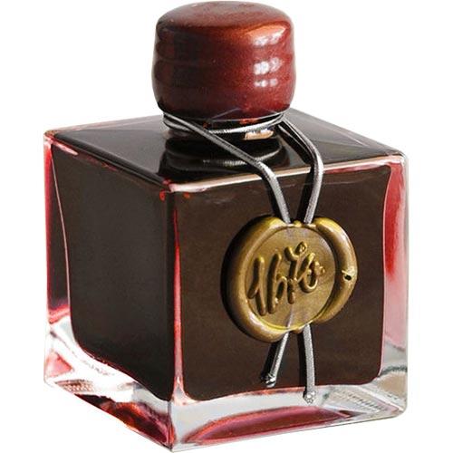 J. Herbin Rouge Hematite (Scarlet) 1670 Anniversary Ink (50ml Bottled Ink)