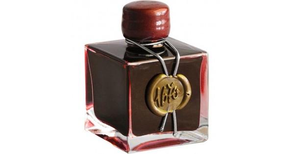 J Herbin Rouge Hematite 1670 Anniversary Ink 50ml