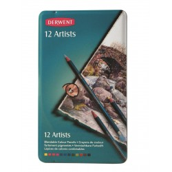 Derwent Artists Pencil Tin Sets