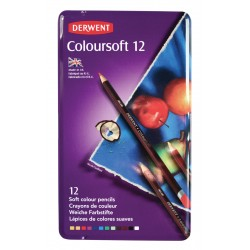 Derwent Coloursoft Pencil Tin Sets