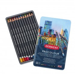 Derwent Procolour Pencil Tin Sets